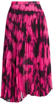 DELFI Collective Clara Tie-Dye Pleated Skirt
