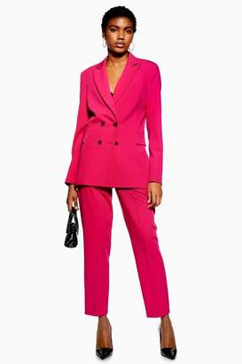 Topshop Womens Tapered Suit Trousers