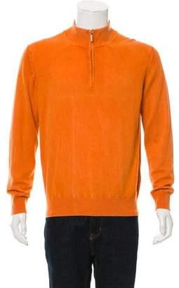 Borrelli Zip-Up Cashmere Sweater