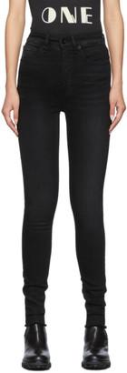 Rag & Bone Black Jane Super High-Rise Skinny Jeans