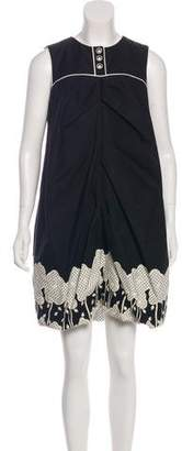 Anna Sui Oversize Shift Dress