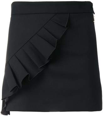 Patrizia Pepe ruffle-trim mini skirt