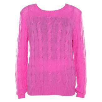 Ralph Lauren Pink Cashmere Knitwear