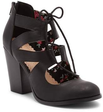 Restricted Wish Me Lace-Up Pump
