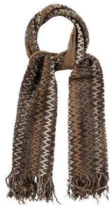 Missoni Fringe-Trimmed Knit Scarf