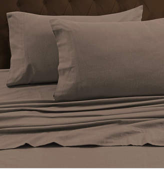 Tribeca Marwah Corporation Living Living 170-gsm Heavyweight Solid Flannel King Fitted Sheet Bedding