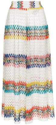 Missoni multicolour striped wide trousers