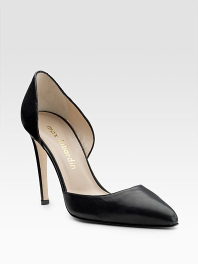 Max Kibardin Leather d'Orsay Pump