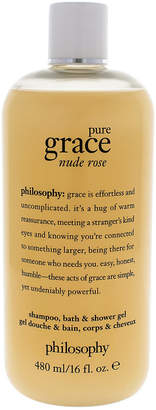 Philosophy 16Oz Pure Grace Nude Rose Shampoo Bath And Shower Gel