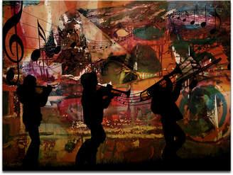 "Ready2HangArt 'Jazz Trio' Oversized 30"" x 40"" Canvas Art Print"