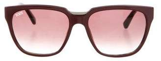 Tod's Oversize Tinted Sunglasses