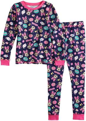 Disney Disney's Minnie Mouse Toddler Girl Top & Bottoms Set by Cuddl Duds