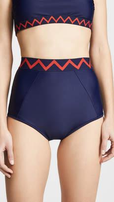 Shoshanna Classic High Waist Bikini Bottoms