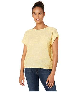 Jones New York Short Sleeve Dolman Pocket Tee