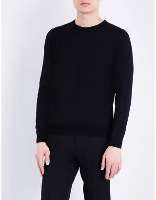 John Smedley Hatfield fine-knit cotton jumper