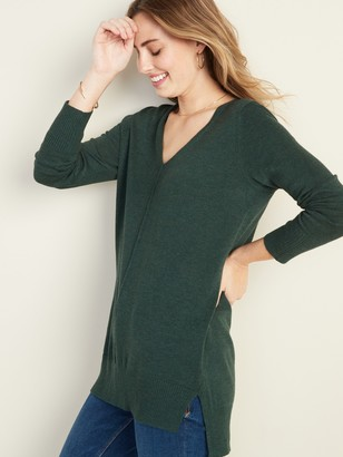 Old Navy V- Neck Tunic Sweater for Women
