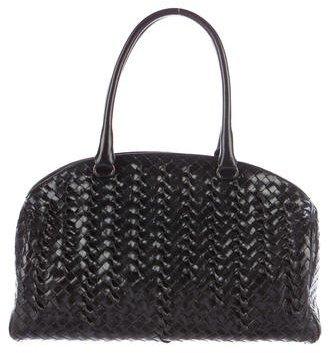 Bottega VenetaBottega Veneta Glazed Intrecciato Leather Bag