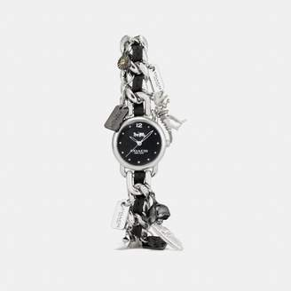 Coach Delancey Charm Bracelet Watch, 23Mm