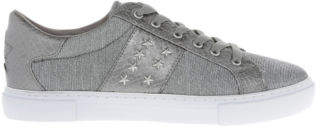 GUESS NEW Gamer Pewter/Silver Sneaker Silver