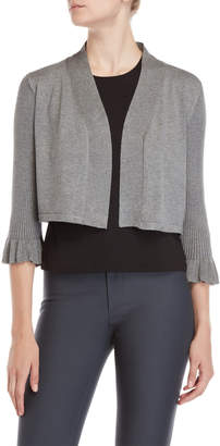 Vila Milano Three-Quarter Ribbed Sleeve Shrug