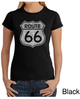Women Word Art T-Shirt - Route 66