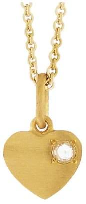 Irene Neuwirth Diamond Heart Charm - Yellow Gold