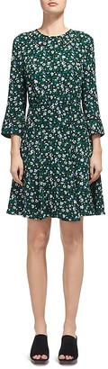 Whistles Anjelica Floral-Print Dress $270 thestylecure.com