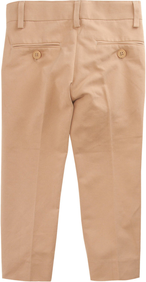 Appaman Flat Front Slim Trousers