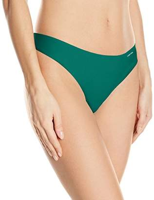 Calvin Klein Women's Invisibles Thong