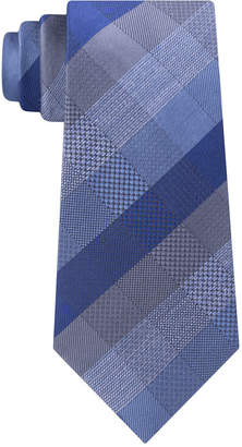 Kenneth Cole Reaction Men Modern Plaid Slim Tie
