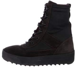 Yeezy Suede Mid-Calf Boots