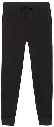 Banana Republic Wool-Cashmere Waffle-Knit Jogger Pant