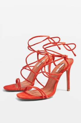 Topshop REBEL Strappy Sandals