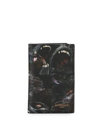 Givenchy Monkeys Card Case, Black $265 thestylecure.com