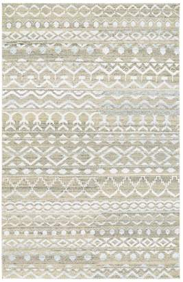 Couristan Rugs Casbah Purnia Hand-Knotted Wool Rug