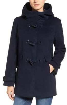 Pendleton Roslyn Waterproof Lambswool Blend Hooded Coat