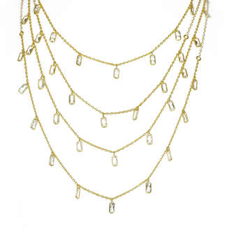Electric Picks Semi-Charmed 4 Layer Necklace