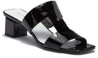 Via Spiga Florence Leather Block Heel Sandal