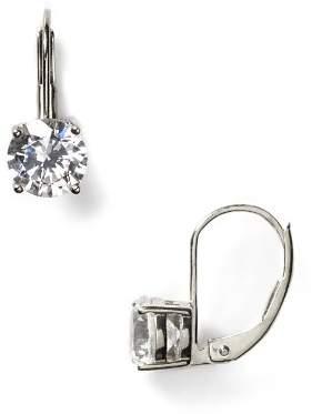 Crislu Solitaire Leverback Earrings, 2.0 ct. t.w.