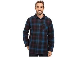 Mountain Hardwear Reversible Plaid Long Sleeve Shirt Men's Long Sleeve Button Up