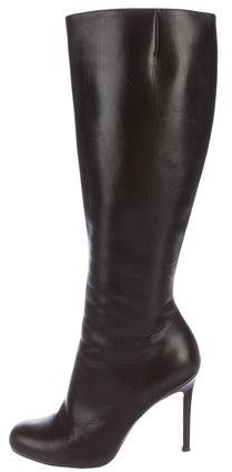 Christian Louboutin Leather Knee-High Boots