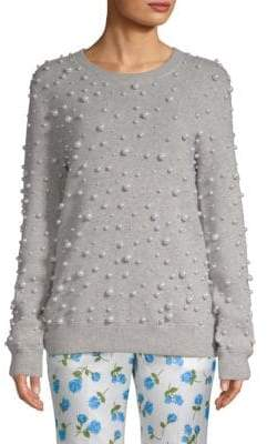 Michael Kors Embellished Cashmere Sweater