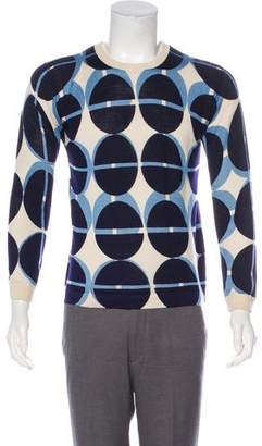 Theory Silk & Cashmere Crew Neck Sweater