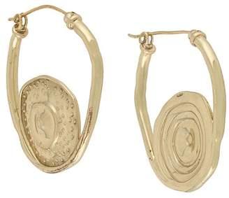 Ellery Single Pop hoop earrings