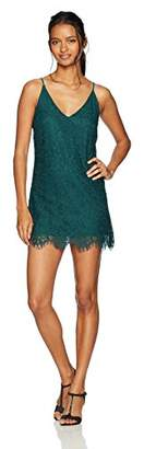 Speechless Lace Slip Dress (Junior's)