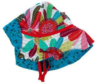 Catimini Girls' Printed Bucket Hat w/ Tags