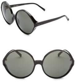 Linda Farrow 657 C1 Round Sunglasses