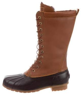 Australia Luxe Collective Leather Mid-Calf Boots