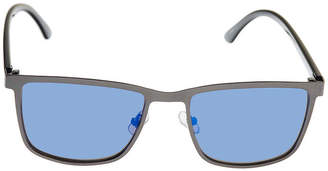 Jf J.Ferrar Full Frame Rectangular Sunglasses - Mens