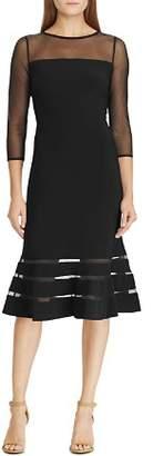 Ralph Lauren Illusion Jersey Dress